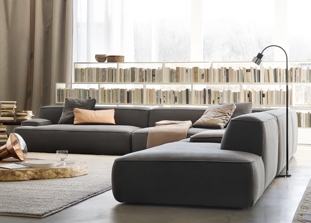 Modern Furniture London   Lema Cloud Corner Sofa Corner Sofas Go Modern